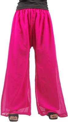 Taraz Regular Fit Women's Maroon Trousers