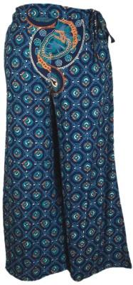 Shopatplaces Regular Fit Women's Blue Trousers
