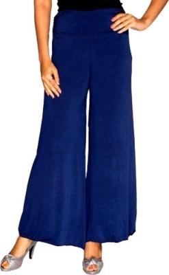 Ace Regular Fit Women's Blue Trousers