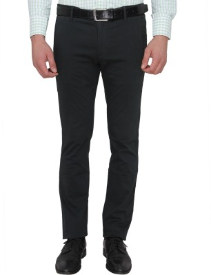 Donear NXG Slim Fit Men's Dark Green Trousers