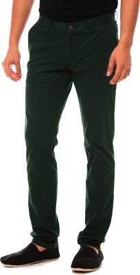 American Chinos Regular Fit Men's Green Trousers