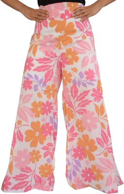 Jupi Regular Fit Women,s White, Orange, Pink, Purple Trousers