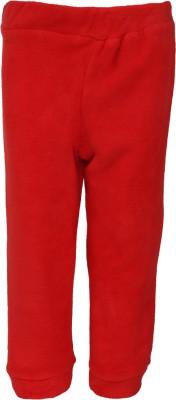 Nino Bambino Regular Fit Baby Boy's Red Trousers