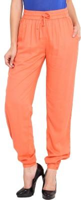 Nvl Regular Fit Women's Orange Trousers