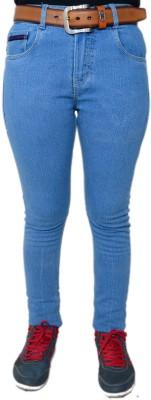 HARTMANN Skinny Fit Women's Light Blue Trousers