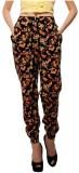 Orous Regular Fit Women's Multicolor Tro...
