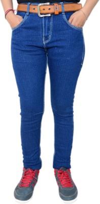 HARTMANN Skinny Fit Women's Dark Blue Trousers