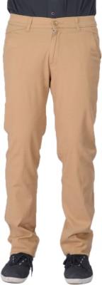 AUSSUM Regular Fit Men's Beige Trousers