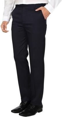 Regalfit Regular Fit Men's Black Trousers