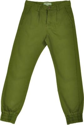 NOQNOQ Regular Fit Boy's Green Trousers