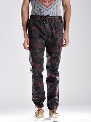 Quiksilver Regular Fit Men's Grey Trousers
