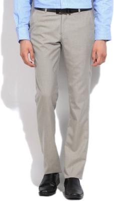 Integriti Slim Fit Men's Grey Trousers