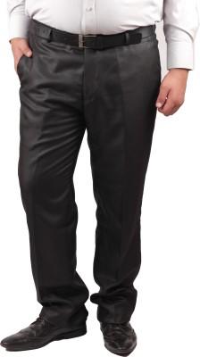 RIPARV Regular Fit Men's Brown Trousers