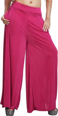 Comix Regular Fit Womens Pink Trousers