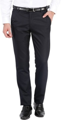 Bagtesh Fashion Regular Fit Men's Black Trousers