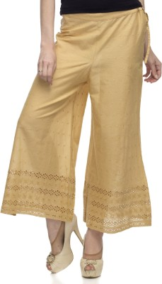 One Femme Regular Fit Women's Brown Trousers