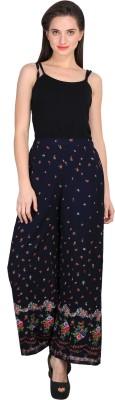 Sierra Regular Fit Women's Black Trousers