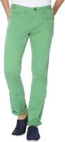 Breakbounce Regular Fit Men's Green Trousers
