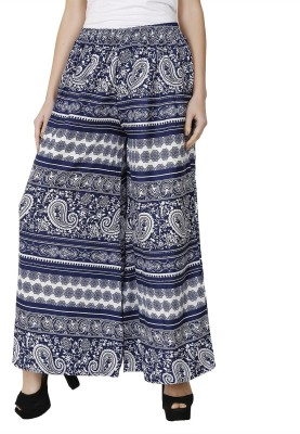 Dimpy Garments Slim Fit Women's Blue Trousers at flipkart