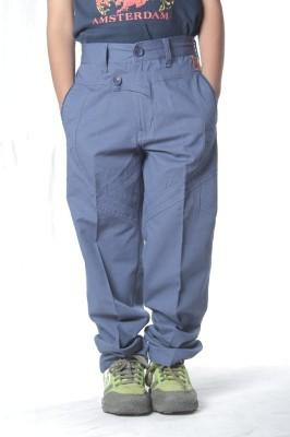 SETVEL Slim Fit Boy's Blue Trousers