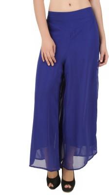 CHIKFAB Regular Fit Women's Blue Trousers