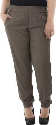 LastInch Regular Fit Women's Light Green Trousers