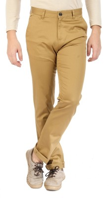 Sting Regular Fit Men's Beige Trousers