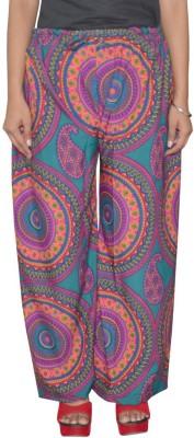 Shreeka Regular Fit Women's Blue, Red Trousers
