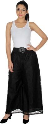 Dimpy Garments Regular Fit Women's Black Trousers