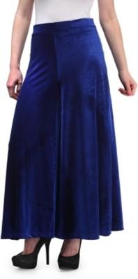 pinksisly Regular Fit Women's Dark Blue Trousers