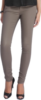 Only Skinny Fit Women's Grey Trousers