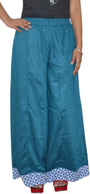 Shreeka Regular Fit Women's Blue, White Trousers