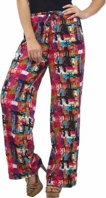 Stylistry Regular Fit Women's Black Trousers