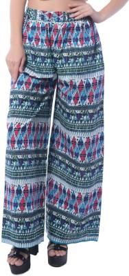 Stri Regular Fit Women's Blue Trousers