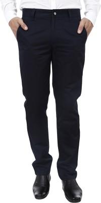 Crocks Club Regular Fit Men's Blue Trousers