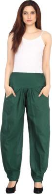 Ankita Regular Fit Women's Dark Green Trousers