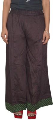 Shreeka Regular Fit Women's Black, Green Trousers
