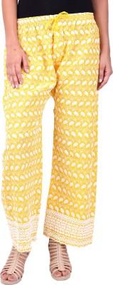 Saiarisha Regular Fit Women's Yellow Trousers