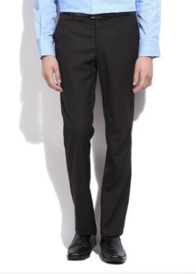 LAWMAN Slim Fit Men's Grey Trousers