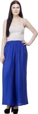 Selfie Regular Fit Women's Light Blue Trousers