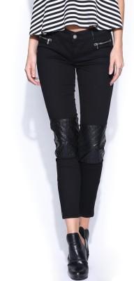 GAS Skinny Fit Women's Black Trousers