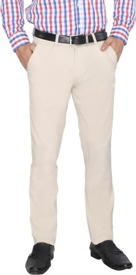 FN Jeans Regular Fit Men's White Trousers
