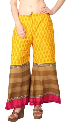 Shararat Regular Fit Women's Multicolor Trousers