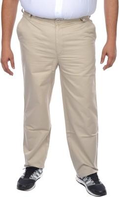 ASABA Regular Fit Men's White Trousers