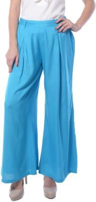 Meira Regular Fit Women's Light Blue Trousers