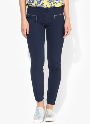 Vero Moda Regular Fit Women's Dark Blue Trousers