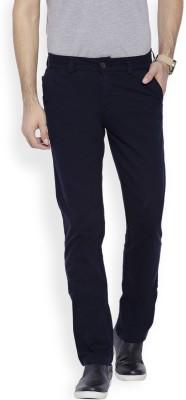 OFFLINE Slim Fit Men's Dark Blue Trousers
