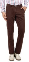 Uber Urban Regular Fit Men's Brown Trousers