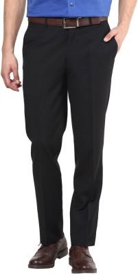 GIVO Slim Fit Men's Black Trousers