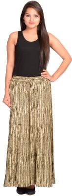 A&K Regular Fit Women's Beige Trousers